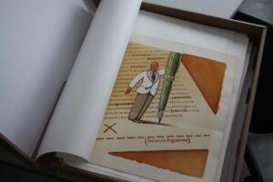 John Alcorn-Disegno-originale-ad-acquerello