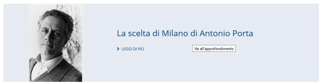 Approfondimento su Antonio Porta